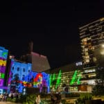 Central Park, Sydney, during Vivid Festival 2016 | Foraggio Photographic